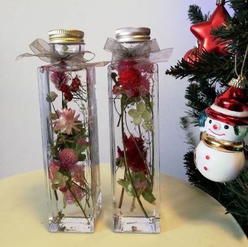 クリスマスハーバリウム